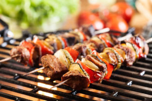 grilling-skewers-on-barbeque