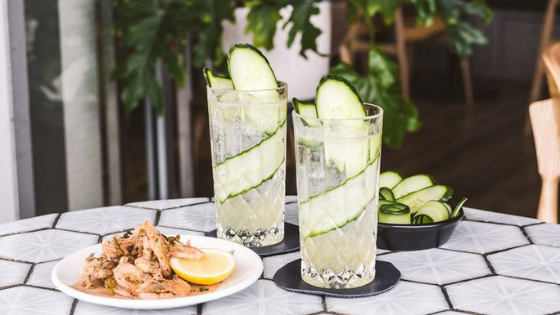 Summer-cocktail-with-shrimp
